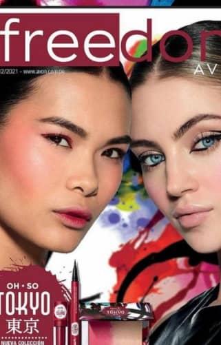 Freedom Avon folleto campaña 12 2021
