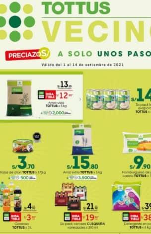 catalogo tottus ofertas 15 / 092021
